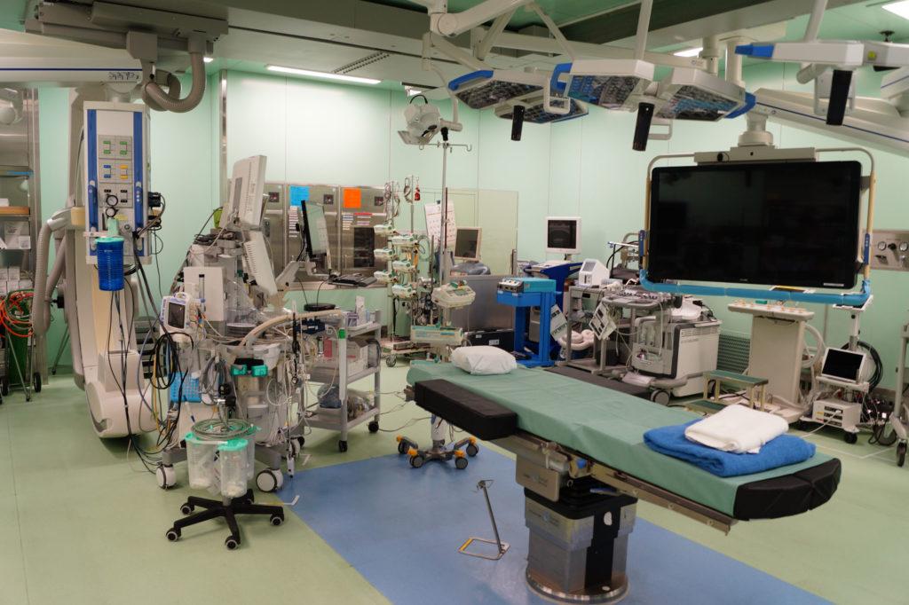 筑波記念病院ハイブリッド手術室