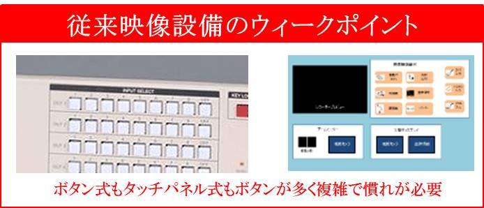 ボタン式もタッチパネル式もボタンが多く複雑で慣れが必要